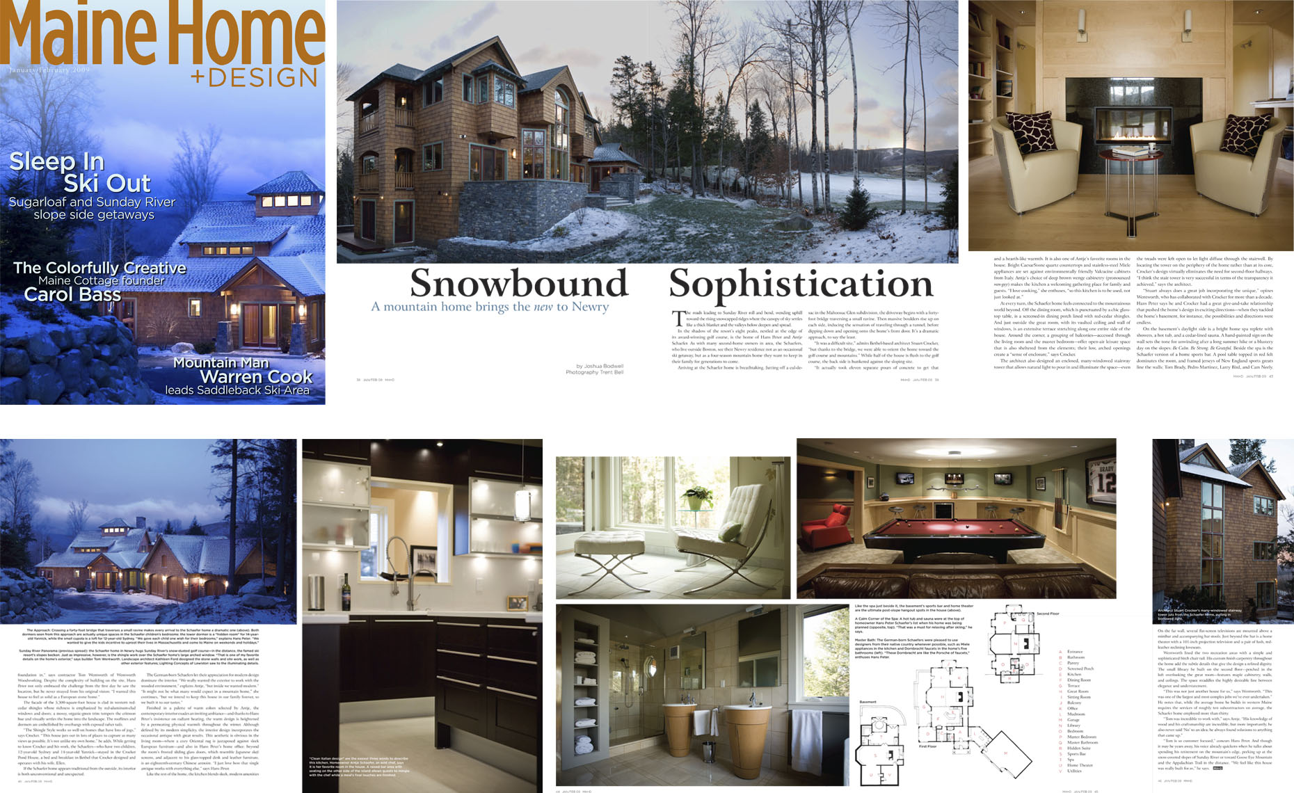Maine Home + Design Tear Sheets