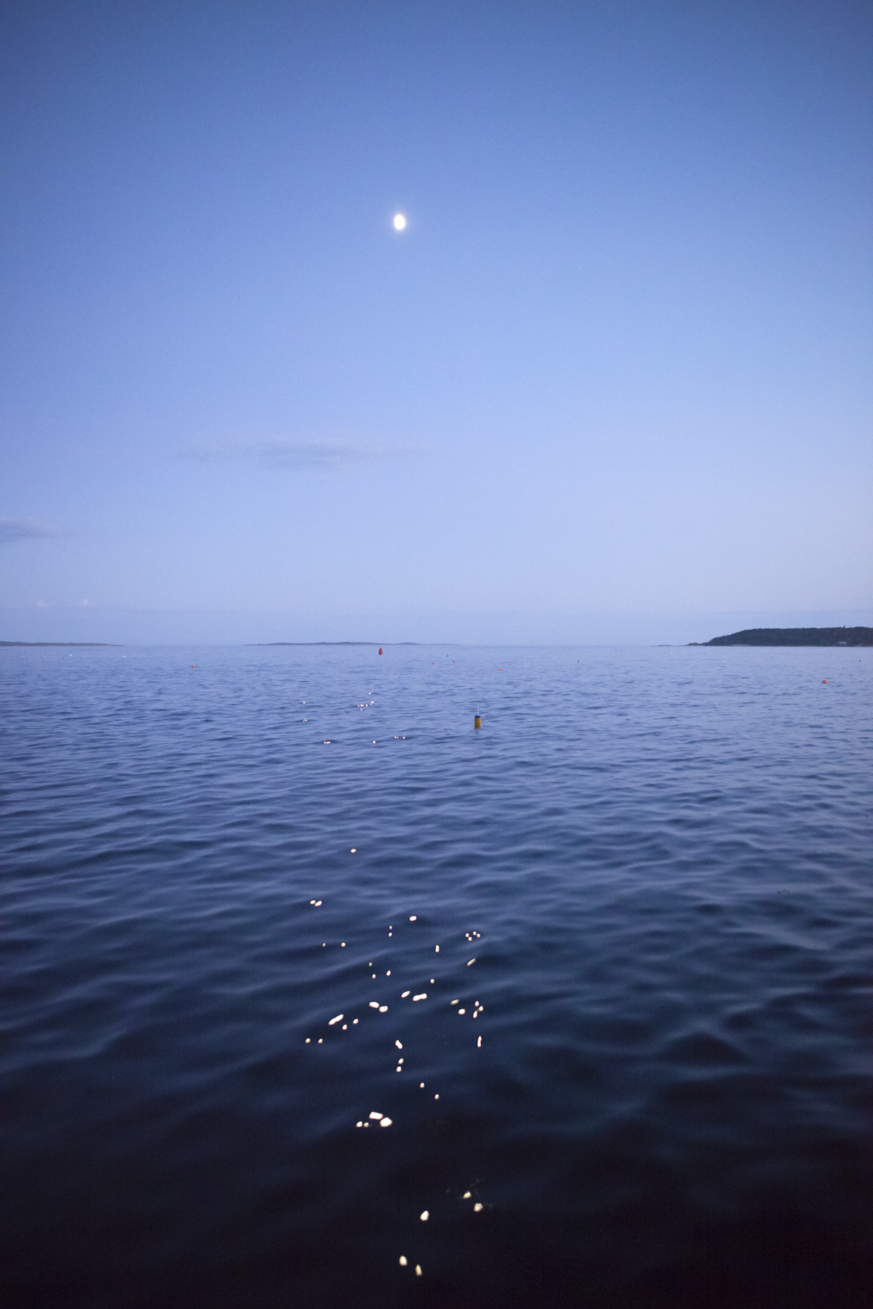 Moon Reflection on the Ocean