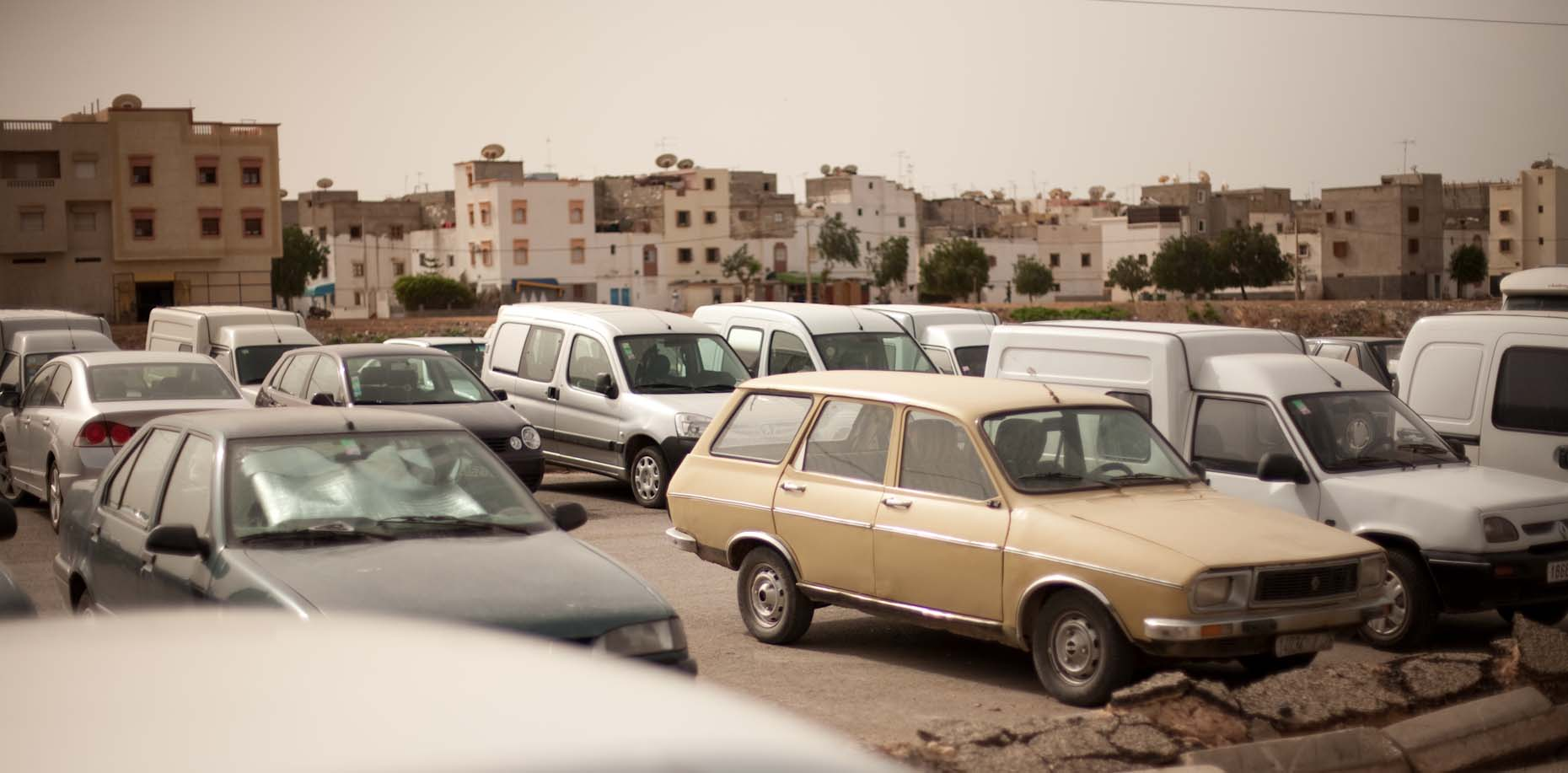 Morocco Parking Lot