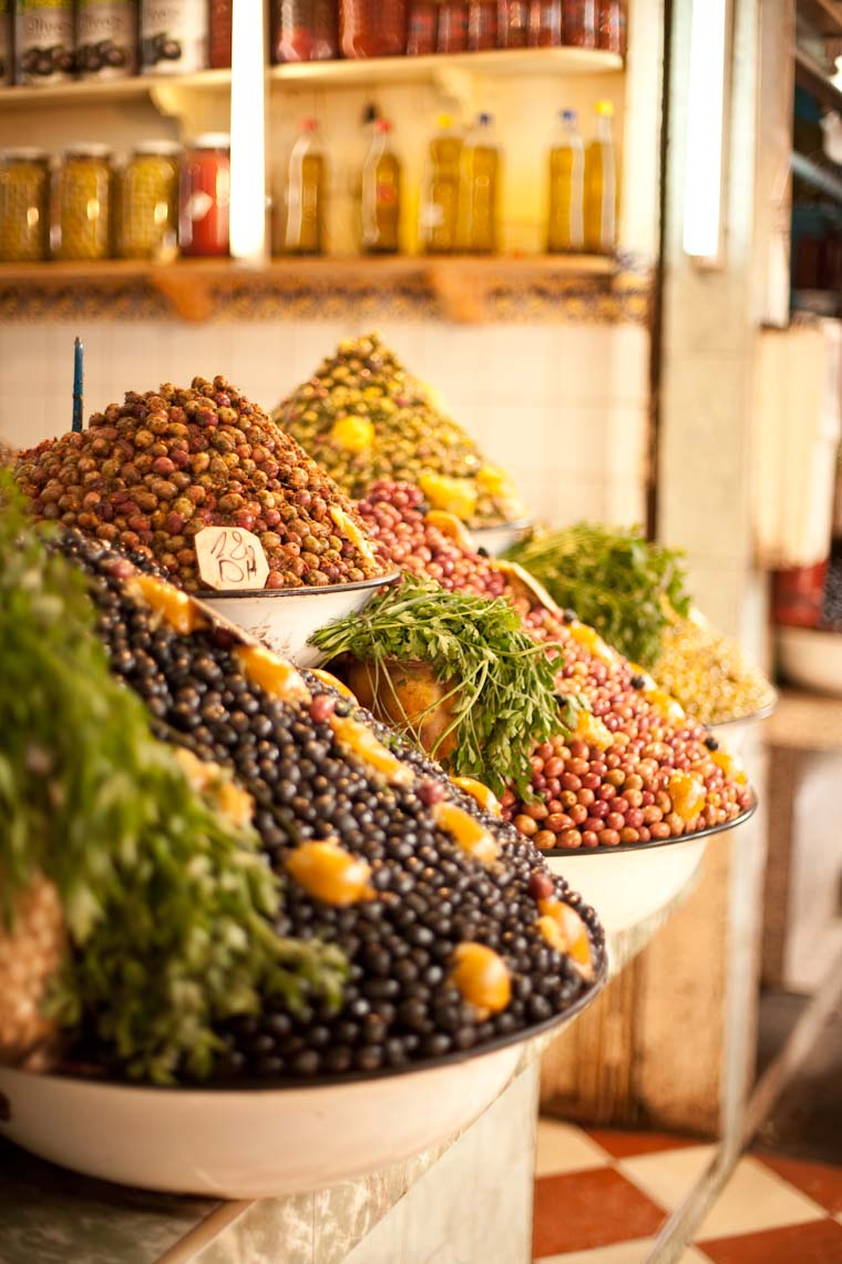 Farmers Market in Morocco