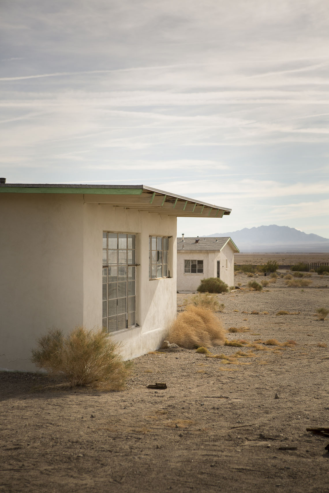 Small Dwellings in the Nevada Desert